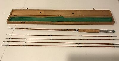With Sleeves Details about  /CHOICE VINTAGE Pearl Japan SPLIT BAMBOO 5 PIECE FISHING ROD