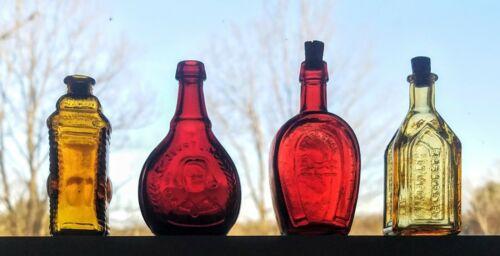 (3)Vintage Wheaton Bitter Bottles~(1) Berring