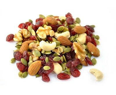 Happy Heart Mix Raw with cranberis 1 lb - Delicious & Nutritious Trail mix