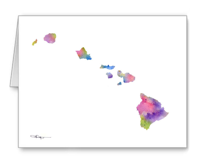 HAWAII Note Cards With Envelopes