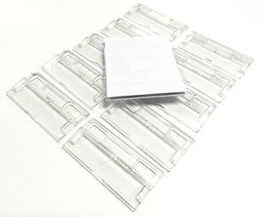 50 SUSPENSION FILE TABS COMPLETE WITH INSERTS - ONLY £4.99 INC P&P