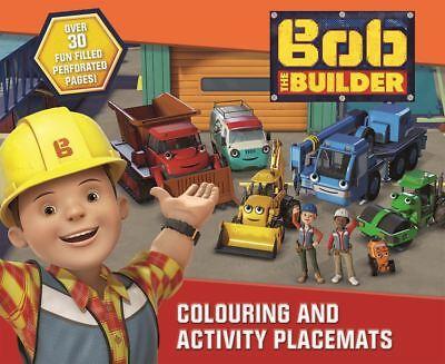 Bob the Builder KINDER JUNGEN MÄDCHEN Ausmalen und Aktivität Tischsets Alter 3+ ()