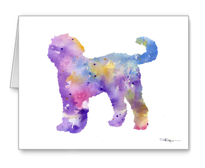 GOLDENDOODLE Note Cards With Envelopes