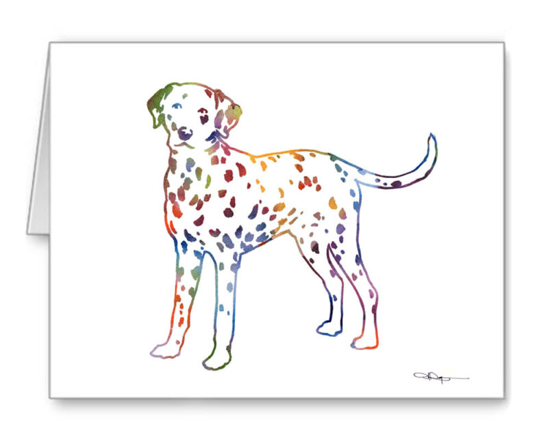 DALMATIAN Note Cards With Envelopes
