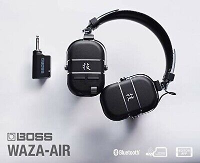 Boss Waza-Air Wireless Guitar Headphone Amp Bluetooth Brand New