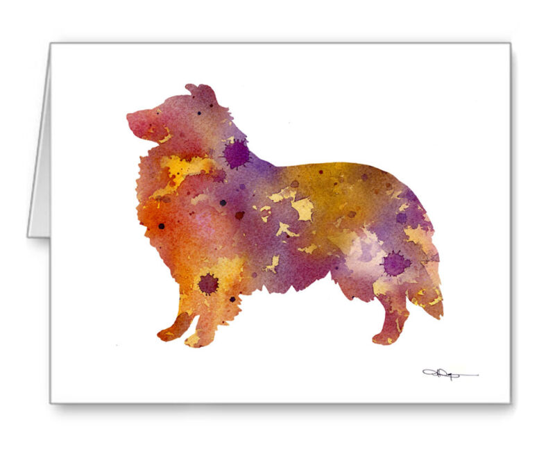 SHELTIE Note Cards With Envelopes