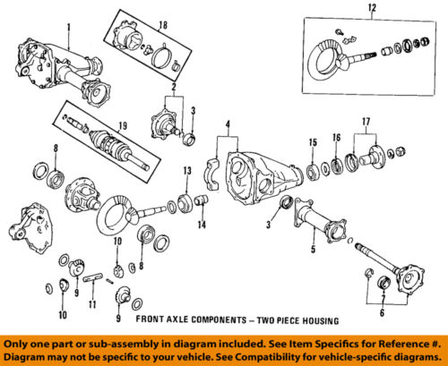 Toyota 86 95 4runner Front Axle Output Shaft Bearing