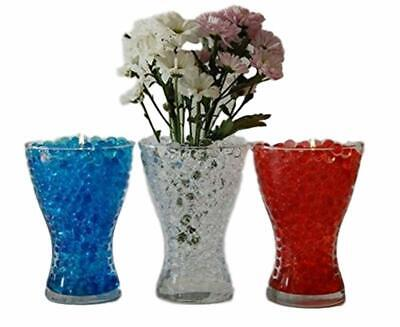 Water Absorbing Beads (ROUND BEADS WATER STORING GEL - WATER ABSORBING CRYSTAL PEARLS  -VASE)