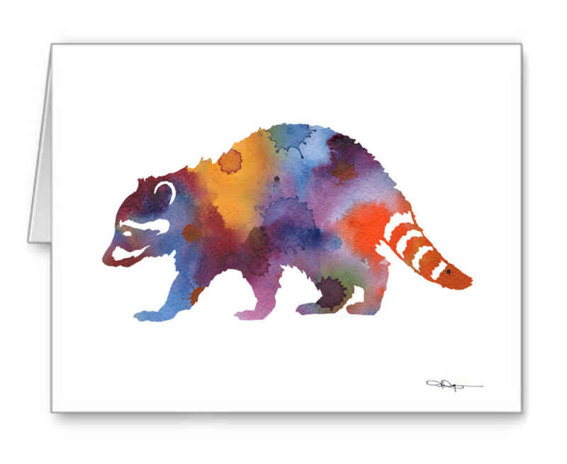 Raccoon Note Cards With Envelopes