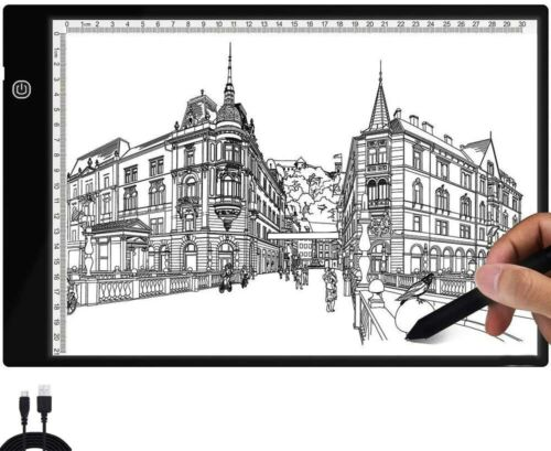 A4 USB LED Artist Tattoo Stencil Board Light Box Tracing Copy Drawing Board Pad