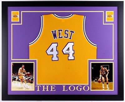 c3869a8a6 Lakers Jerry West Authentic Signed Yellow Mesh Jersey Autographed BAS  Witnessed Jerseys