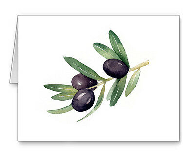 OLIVE BRANCH Note Cards With Envelopes