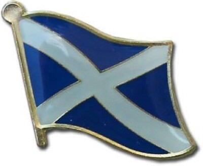 Al por Mayor Paquete 12 Escocia Cruz Campo Bandera Bicicleta Gorro Pin...