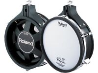 Roland V Drums PD-105 ten inch TOM / SNARE Dual Trigger Mesh Electronic pad