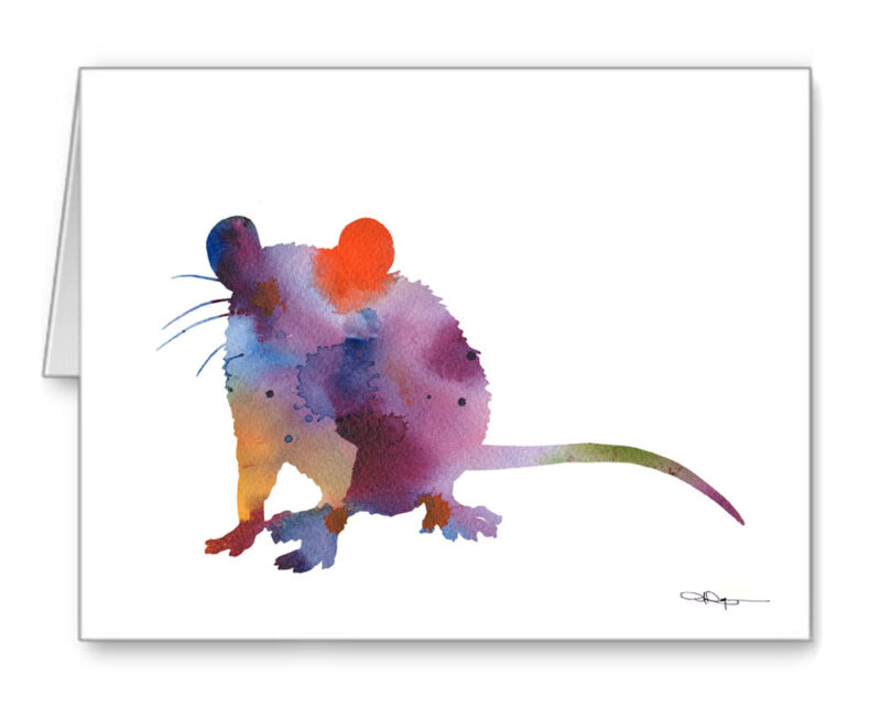 RAT Note Cards With Envelopes