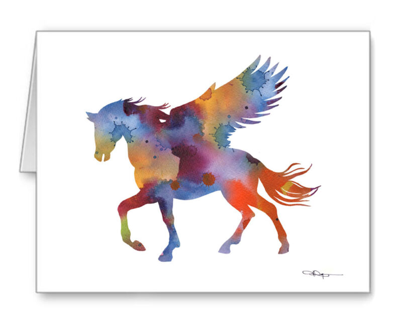PEGASIS Note Cards With Envelopes