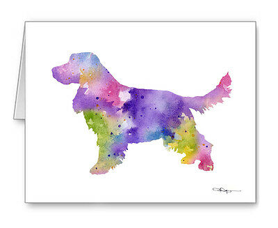 ENGLISH COCKER SPANIEL Note Cards With Envelopes