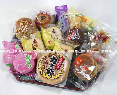 Dorayaki Manju Mochi Pancake Yokan Assorted 11 kinds 15 pcs set Japanese Wagashi