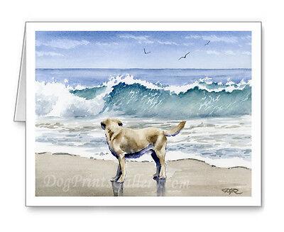 LABRADOR RETRIEVER DOG GREETING NOTE PARTY INVITATION THANK YOU BIRTHDAY CARDS ()