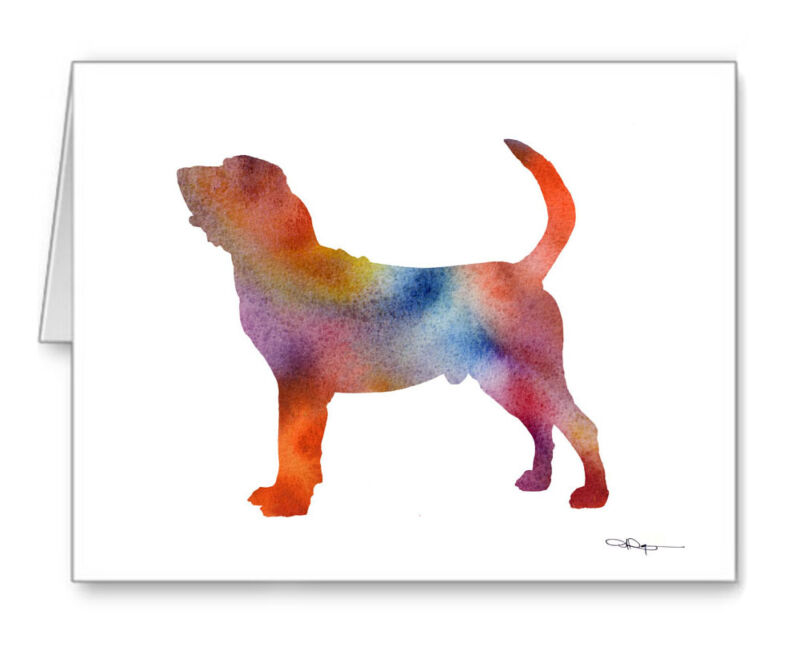 BLOODHOUND Note Cards With Envelopes