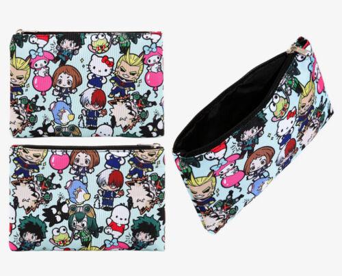 My Hero Academia X Hello Kitty And Friends Makeup Bag Cosmetic Bag