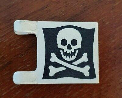 LEGO 2335p30 set 6285 6258 drapeau flag Pirates flag with Jolly Roger