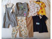 Boys clothes bundle BNWT 18-24 Months 8 items M&S Next + Others