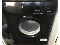 6kg Bush tumble drier in black clothes dryer