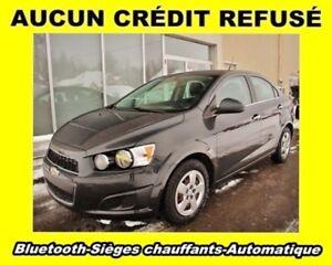 2014 Chevrolet Sonic LT *AUTOMATIQUE* SIEGES CHAUF. *BAS KM*