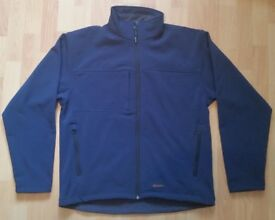 SOFT SHELL MEN'S JACKET SIZE M NAVY