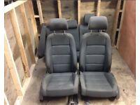 Vw golf mk5 grey cloth seats