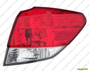Tail Light Passenger Side High Quality Subaru Outback 2010-2014