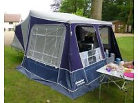 Camplet Concorde Trailer Tent c2008 with accessories in excellent condition; used only occasionally