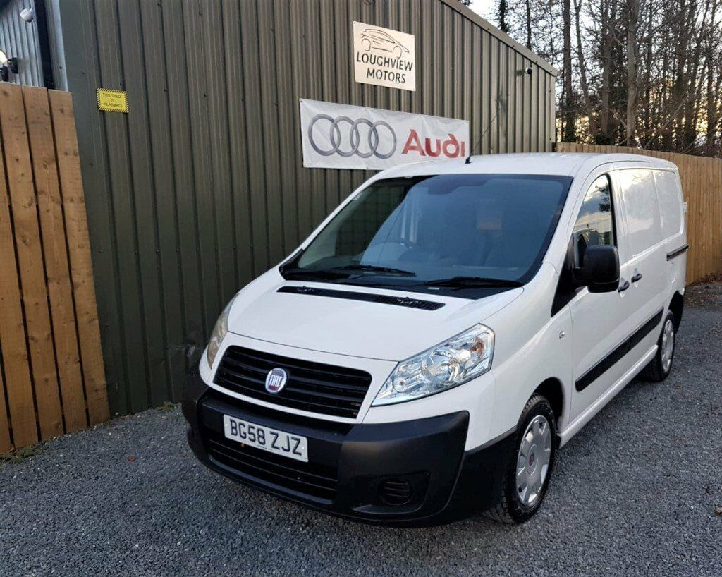 2008 FIAT SCUDO 1.6 HDI, WHITE, 3 SEATS, 6 DOORS, LOW MILEAGE, JUST  SERVICED, TWO OWNERS, NO VAT | in Dundonald, Belfast | Gumtree