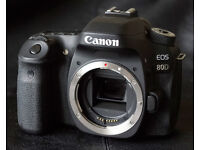 Canon EOS 80D DSLR Camera Body Only !