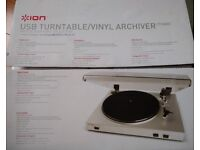 ION USB Turntable with cables. In working order. Free for collection