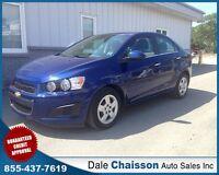 2012 Chevrolet Sonic LT ($85 Bi-Weekly $0 Down Tax Inc.)*