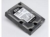 2 x 1TB Hard Disks Western Digital