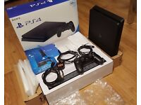 PS4 Slim Playstation 4 Slim 500Gb Fully Boxed Makes and ideal gift