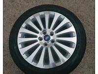 Ford Focus Titanium Alloy Wheel And Tyre Brand New