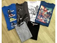 6 ASST. BOYS T-SHIRTS AGE 9YRS