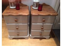 2 xbedside drawers
