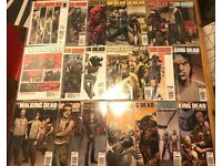 Exclusive Cover Walking Dead Magazines #1 - 20 including Walker Stalker Specials