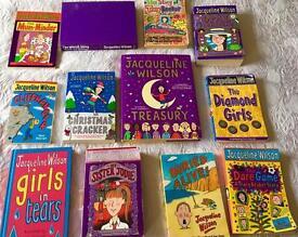 Jacqueline Wilson books x 12