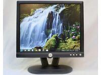Dell E172FPt 17 Inch - LCD Monitor (No HMDI port) - Monitor Comes with UK Power Lead & VGA Cable