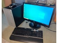 """HP Pavilion """"everyday use"""" PC Win 10 Intel Core i3 8100 4GB, 931GB, 20in Mon,Webcam,W/less Key/Mouse"""