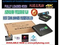 Fully Loaded Kodi Genuine OTT-A96S Quad-Core Amlogic-S905X 4K Mali-450 Android TV Box