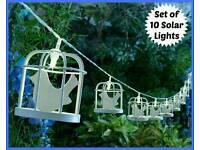 BIRD CAGE SOLAR STRING LIGHTS - £16
