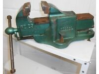 Record No.23 Fitters Engineering Vice in Green