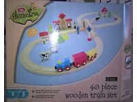 Chad Valley Train Set (38 of 40 Pieces available) - £10 ono